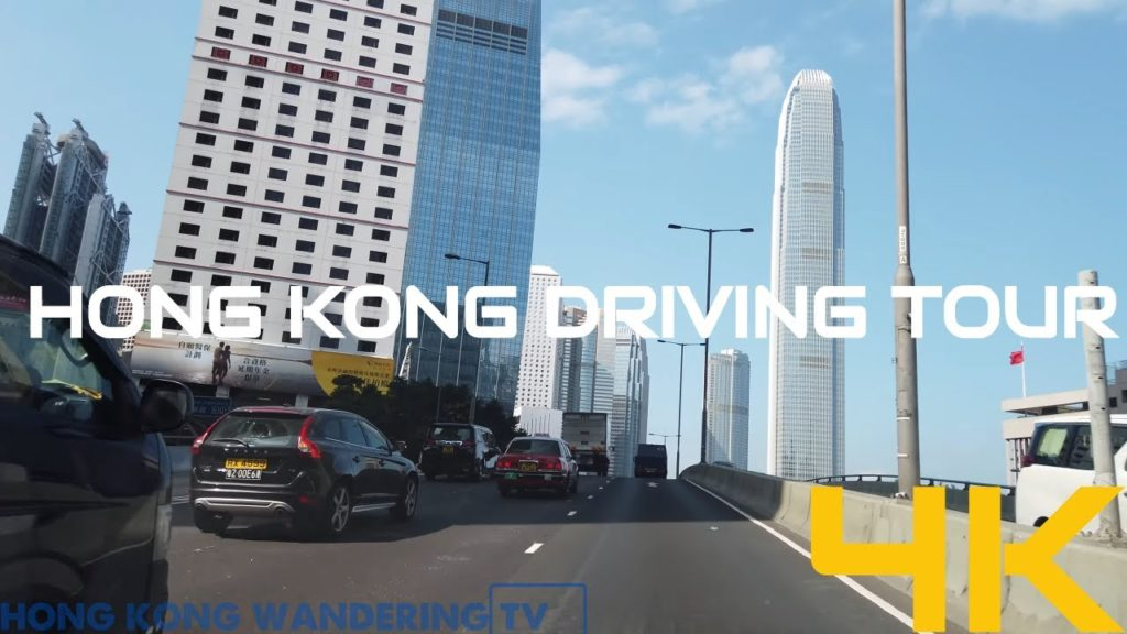 hong kong driving tour ultra hd 4k prince edward rd to ifc central