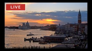 webcam venice live st marks basin in live streaming from tribute to music venice